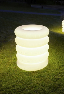BIG PUFF floor lamp outdoor 04