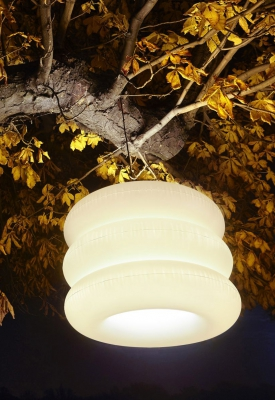 BIG PUFF hanging lamp outdoor 02