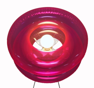 BIG PINK floor lamp 02